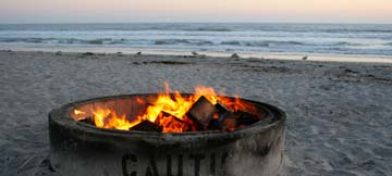 beach firepits